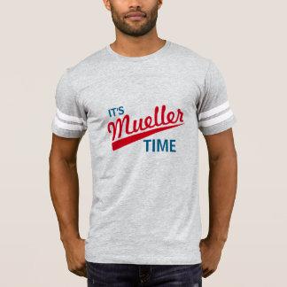 """Camiseta Divertido """"es tiempo de Mueller """""""