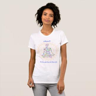 Camiseta divina del hachís de la yoga del honor
