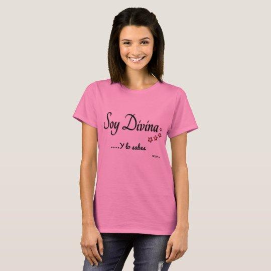 Camiseta Divina mujer