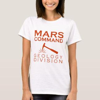 Camiseta División de la geología del comando de Marte