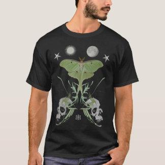 Camiseta Doble de la polilla de Luna de lujo con en su
