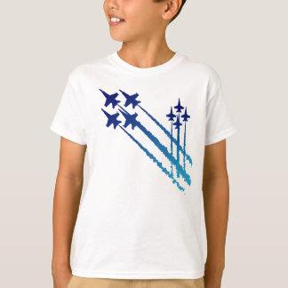 Camiseta doble de los niños de los diamantes de