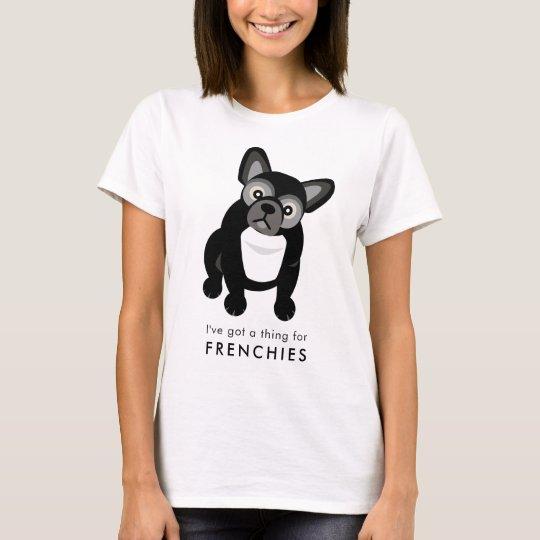Camiseta Dogo francés lindo