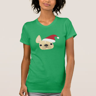 Camiseta Dogo francés Santa