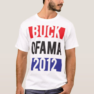 Camiseta Dólar Ofama 2012 - RedWhiteBlue