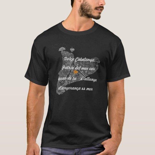 Camiseta Dolça Catalunya, Patria del meu cor