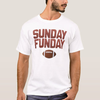 Camiseta Domingo Funday - edición del fútbol