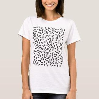 Camiseta Dominós en blanco
