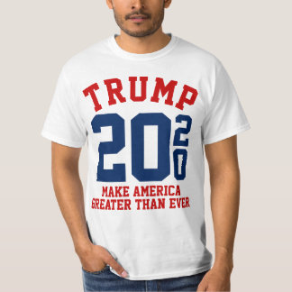 Camiseta Donald Trump 2020 hace América mayor que nunca
