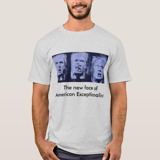 Camiseta Donald Trump - Exceptionalism americano