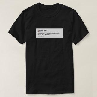 Camiseta Donald Trump gorjeo 6 de noviembre de 2012