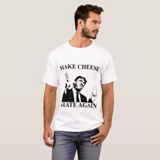 Camiseta Donald Trump hace que el queso ralla otra vez la