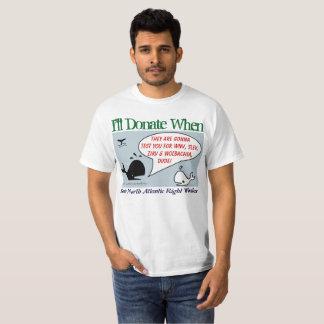Camiseta Donaré cuando por RoseWrites
