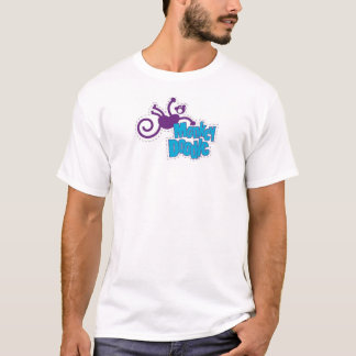 Camiseta Doodle del mono
