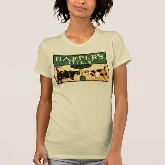 Camiseta Dos gatos de calicó, Edward Penfield, julio de