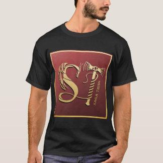 Camiseta Dragón de la cosa de la saga y logotipo del