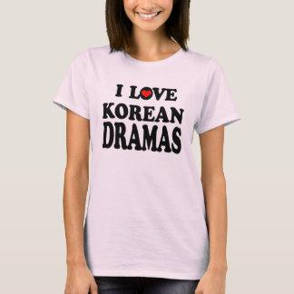 Camiseta Dramas coreanos