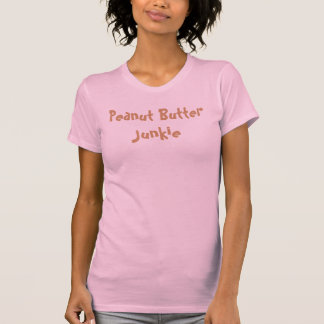 Camiseta Drogadicto de la mantequilla de cacahuete