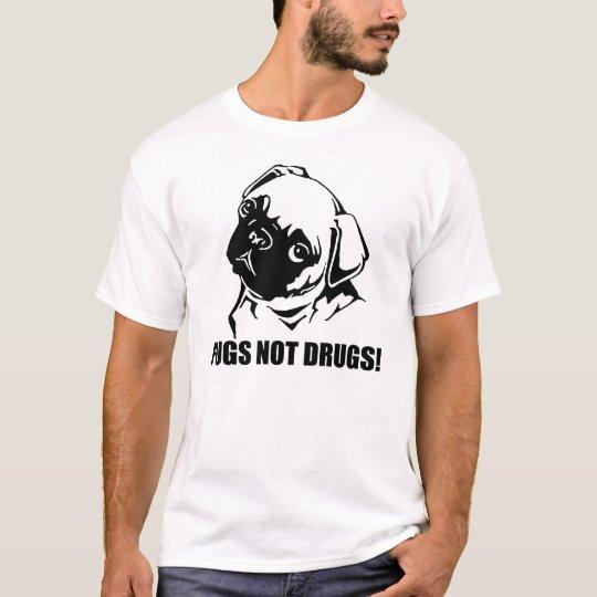 Camiseta Drogas de los barros amasados no