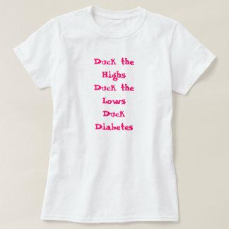 Camiseta Duck los altos Duck la diabetes del pato de los