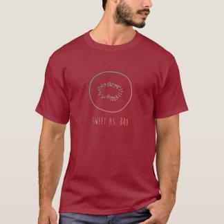 "Camiseta ""Dulce como, kiwi de Nueva Zelanda del arco iris"