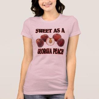 Camiseta Dulce como melocotón de Georgia (mujeres)