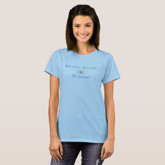 Camiseta dulce de la marca de la abeja THP para
