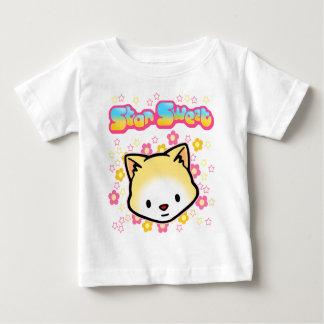 Camiseta dulce del bebé de la estrella