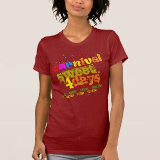 Camiseta Dulce del carnaval 4 días (de editable)