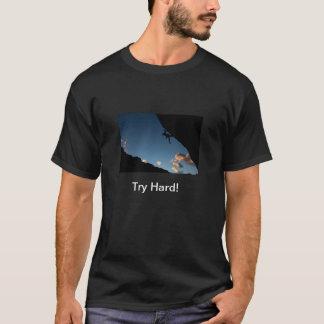 Camiseta dura del intento