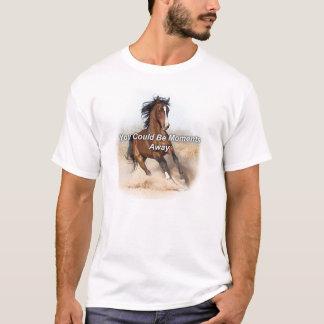 Camiseta eBooks del caballo - usted podría ser momentos