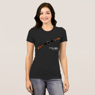 Camiseta Eclipse solar completo Carbondale Illinois