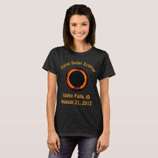 Camiseta Eclipse solar total (caídas de Idaho,
