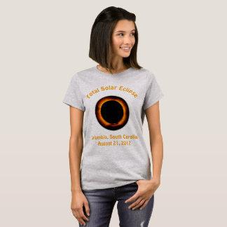 Camiseta Eclipse solar total (Cloumbia, Carolina del Sur)
