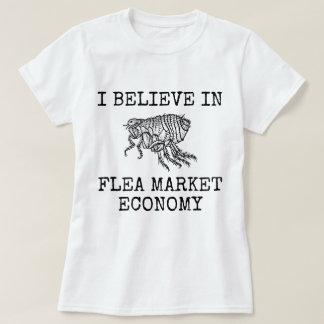 Camiseta Economía del mercado de pulgas