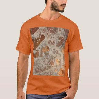 Camiseta Ectoplasm abstracto único del otro mundo de la
