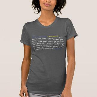 Camiseta ecuestre de la definición