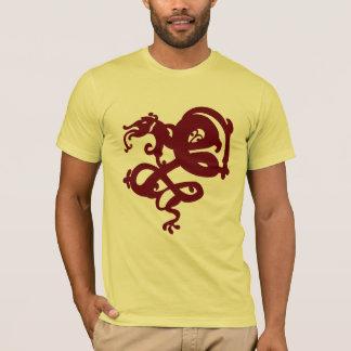 Camiseta Edición de Bezerker del rojo del dragón 03 del mar