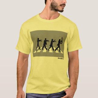 Camiseta Edición del zombi del camino de la abadía