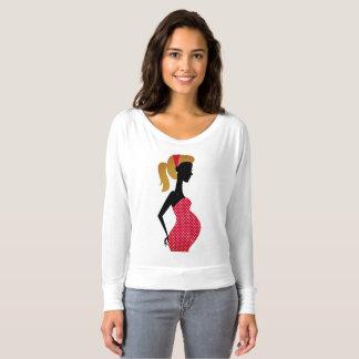 Camiseta Edición embarazada de los diseñadores de la