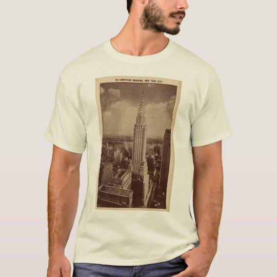 Camiseta Edificio de Chrystler