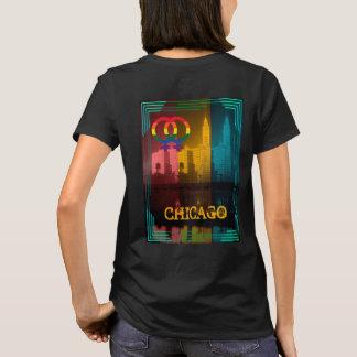 Camiseta Edificio lesbiano de Wrigley de los años 30 del