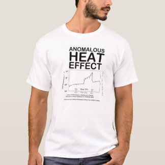 Camiseta EFECTO de CALOR ANÓMALO (camiseta de la fusión