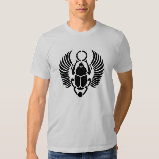 Camiseta egipcia del escarabajo del escarabajo