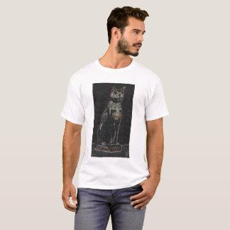 Camiseta Egipt bastet cat male design art colour history