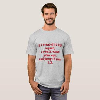 Camiseta Ego al índice de inteligencia