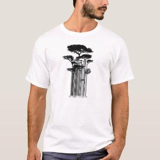 Camiseta Ejemplo de los árboles del código de barras