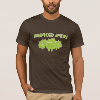 Camiseta Ejército androide
