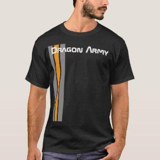Camiseta Ejército del dragón del juego de Ender (negro)