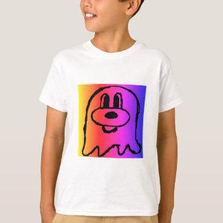 Camiseta El 鬼鬼 del blanco y del arco iris embromó la